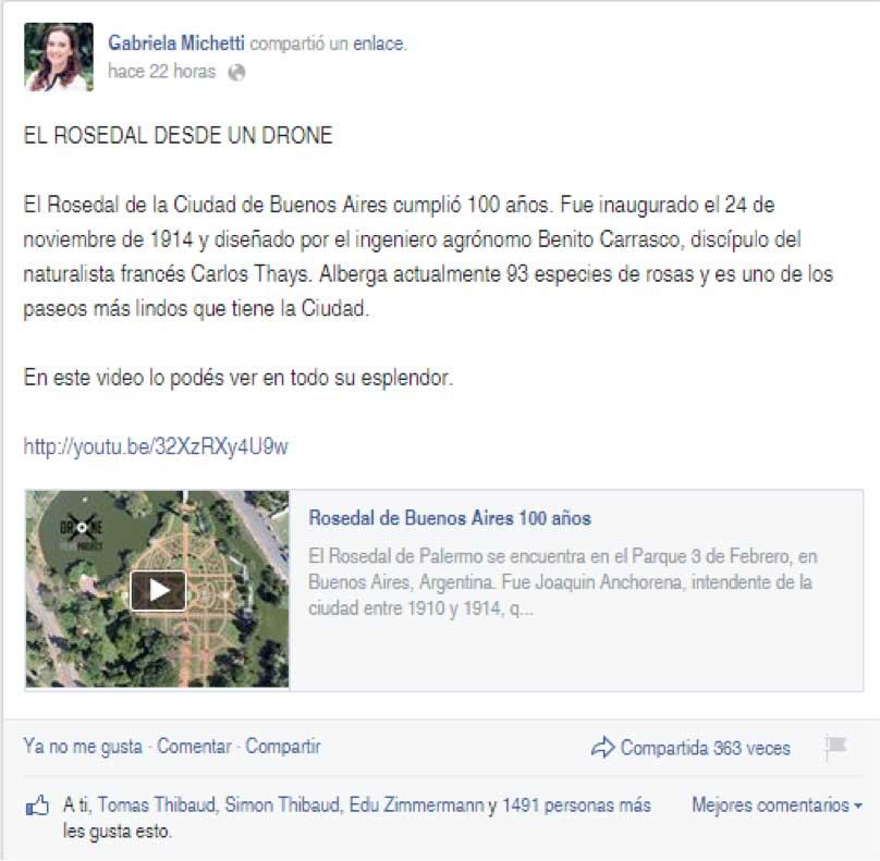 Gabriela Michetti Rosedal